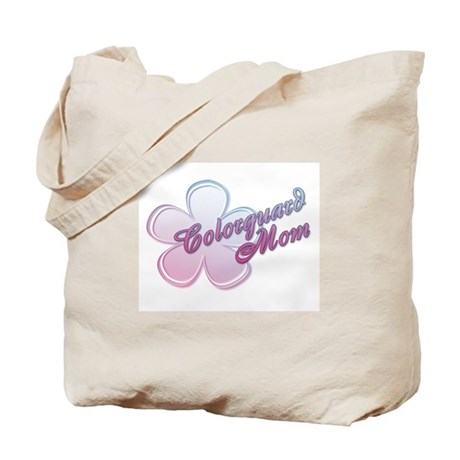Colorguard Mom Flower Tote Bag