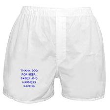 harness racing Boxer Shorts