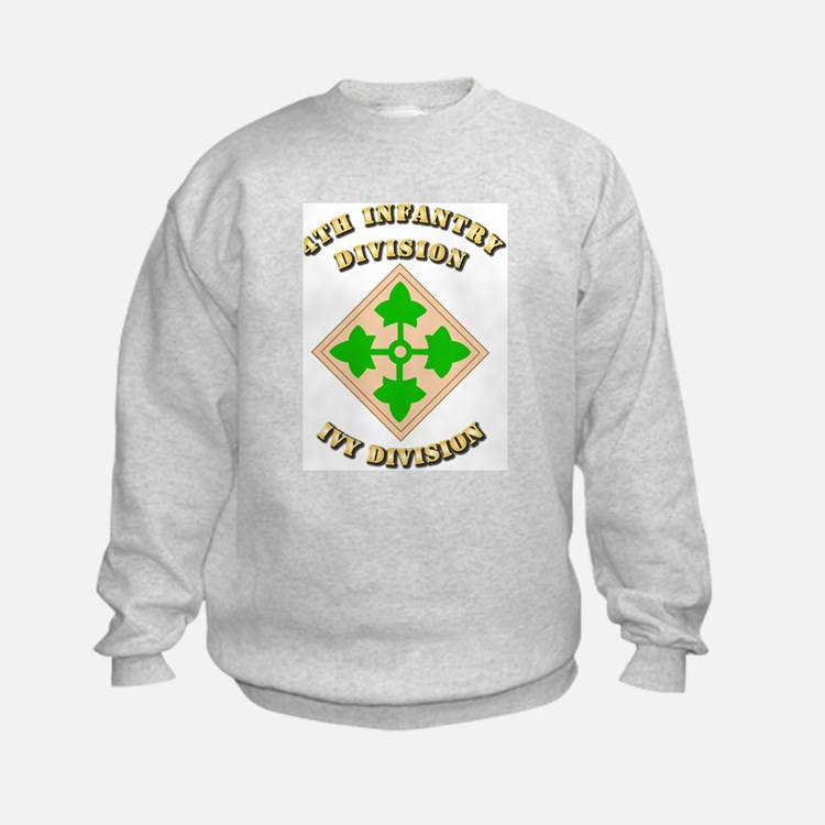 Army - Division - 4th Infantry Sweatshirt