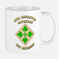 Army - Division - 4th Infantry Mug