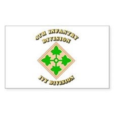 Army - Division - 4th Infantry Decal