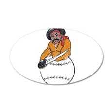 Throwback Pirates Wall Decal