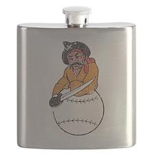 Throwback Pirates Flask
