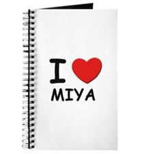 I love Miya Journal