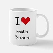 I Love Fender Benders Mug