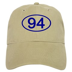 Number 94 Oval Baseball Cap