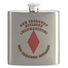 Army - Division - 5th Infantry Flask