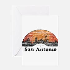 Vintage San Antonio Greeting Card