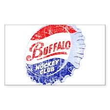 Vintage Buffalo Hockey Decal