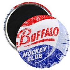 Vintage Buffalo Hockey Magnet