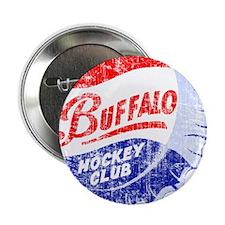 "Vintage Buffalo Hockey 2.25"" Button"