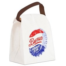 Vintage Buffalo Hockey Canvas Lunch Bag