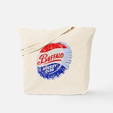 Vintage Buffalo Hockey Tote Bag