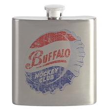 Vintage Buffalo Hockey Flask