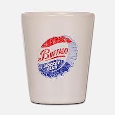 Vintage Buffalo Hockey Shot Glass