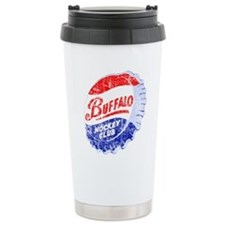 Vintage Buffalo Hockey Travel Mug