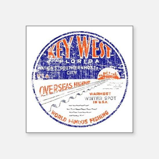 Vintage Key West Sticker
