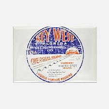Vintage Key West Rectangle Magnet