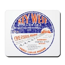 Vintage Key West Mousepad
