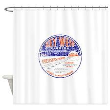 Vintage Key West Shower Curtain