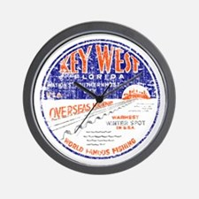 Vintage Key West Wall Clock