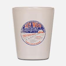 Vintage Key West Shot Glass