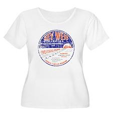 Vintage Key West Plus Size T-Shirt