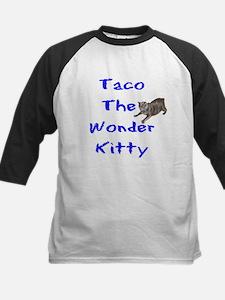 Wonder Kitty Kids Baseball Jersey