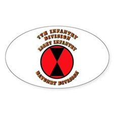 Army - Division - 7th Infantry Decal