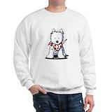 Westie Crewneck Sweatshirts