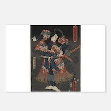 Toyokuni Utagawa - Ishikawa Danjuro VIII In the Ro