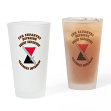 Army - Division - 7th Infantry DUI Drinking Glass