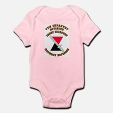 Army - Division - 7th Infantry DUI Infant Bodysuit