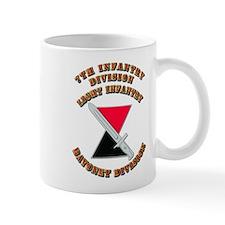 Army - Division - 7th Infantry DUI Mug