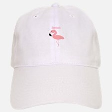 Personalized Flamingo Baseball Baseball Cap
