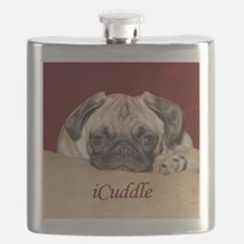 Adorable iCuddle Pug Puppy Flask