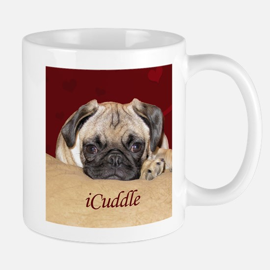 Adorable iCuddle Pug Puppy Mug