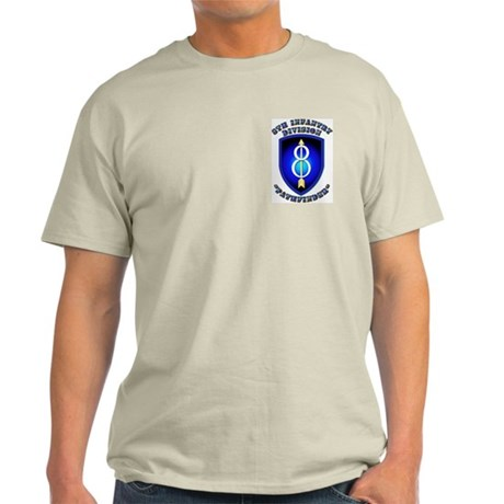 Army - Division - 8th Infantry Light T-Shirt
