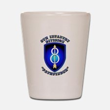 Army - Division - 8th Infantry Shot Glass