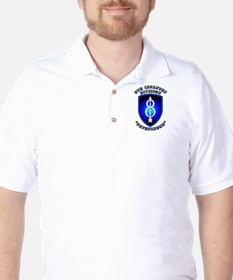 Army - Division - 8th Infantry Golf Shirt