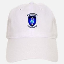Army - Division - 8th Infantry Baseball Baseball Cap