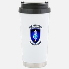 Army - Division - 8th Infantry Travel Mug