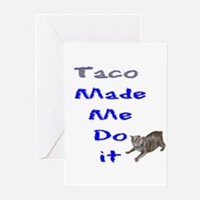 made me do it Greeting Cards (Pk of 10)
