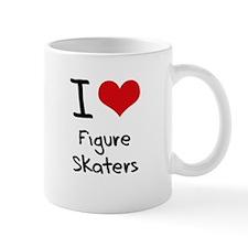 I Love Figure Skaters Small Mug