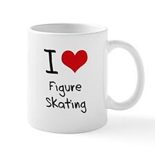 I Love Figure Skating Small Mug