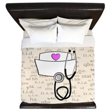 Nurse King Duvet