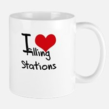 I Love Filling Stations Mug