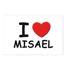 I love Misael Postcards (Package of 8)