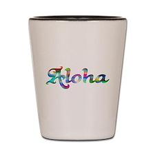 Aloha Rainbow Shot Glass
