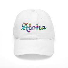 Aloha Rainbow Baseball Baseball Cap